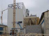 Konstrukcja stalowa stawiana w Bieganowie
